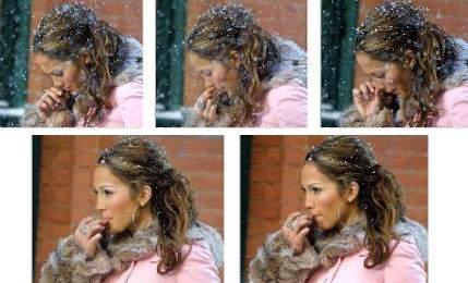 Jennifer Lopez dłubie w nosie i zjada gile