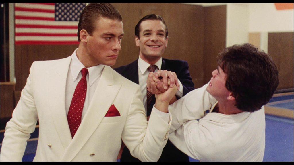 Jean-Claude Van Damme w filmie Bez odwrotu