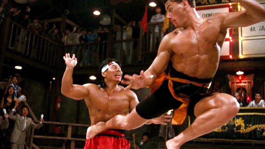 Jean-Claude Van Damme i Bolo Yeung walczą w filmie Krwawy sport