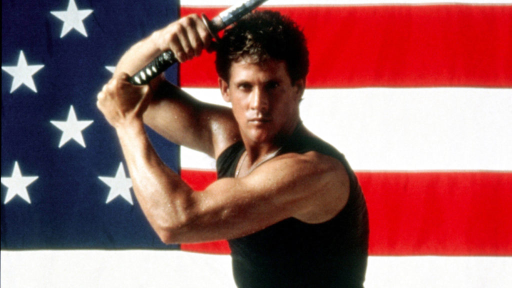 Amerykański Ninja, Michael Dudikoff: Legendarne spotkanie wschodu i zachodu na jednej fotografii.