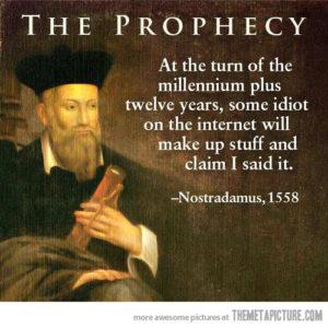 Nostradamus zainspirował mnie do dalszych poszukiwań supermocy