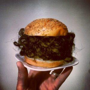 Hamburger z kudłami - od niedawna moje ulubione danie